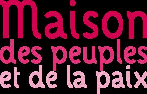 logo maison des peuples et de la paix angouleme